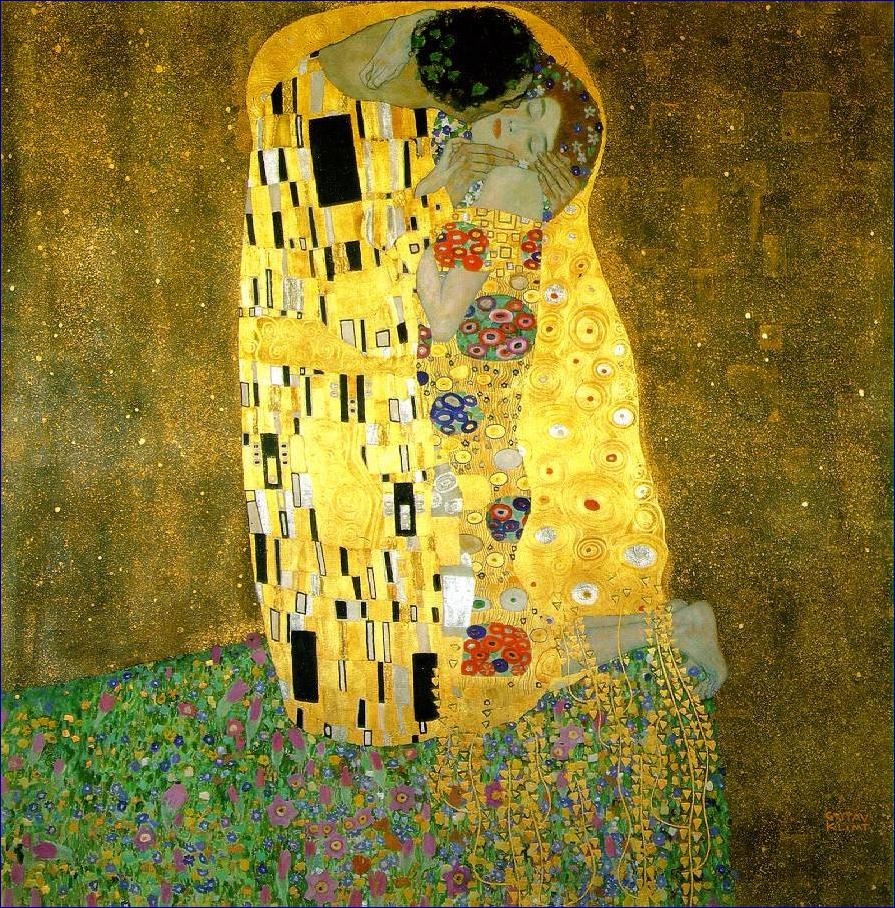 Le Baiser de Gustav Klimt Klimt_baiser